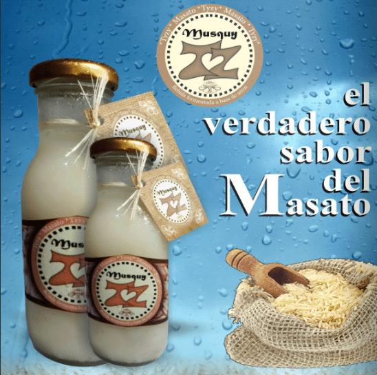 imagen de masato perteneciente al catalogo de Bogota Foods Industry